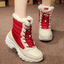 ZUNYU 흰 겨울 boots women 패션 눈 boots new style women's shoes Brand shoes (high) 저 (quality fast free shipping girlw boot(China)