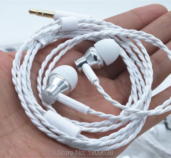 Genuine Onkyo E200 In ear HD earphone semi-open stereo Hifi headsets white color new(China (Mainland))
