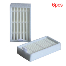 6 Pcs / Lot Hepa Filter for Panda X500 ECOVACS X500 X600 CR120 Vacuum Cleaner parts replacement Free Shipping New