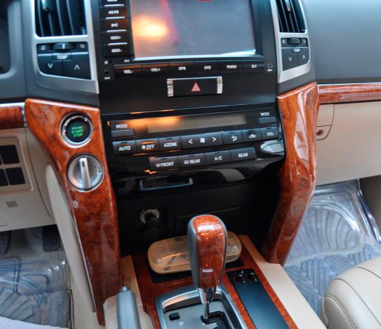 16pcs 3d Interior Panel Dash Board Cover For Toyota Land Cruiser 200 Accessories Fj200 2008 2014