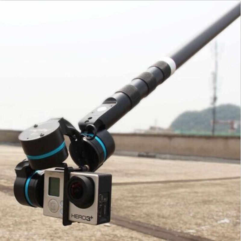 FEI YU G3 G4 Ultra Handheld Gimbal Carbon Fiber Extension Rod Tube 37cm with Switch(China (Mainland))