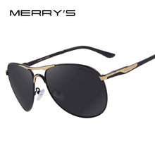 MERRY'S Men Aluminum Polarized Sunglasses Classic Brand Sunglasses EMI Defending Coating Lens Driving Shades S'8712(China (Mainland))