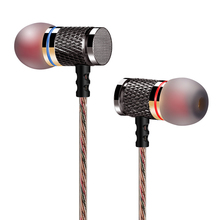 KZ-ED2 Professional In-Ear Earphone Metal Heavy Bass Sound Quality Music Earphone China's High-End Brand Headset fone de ouvido(China (Mainland))
