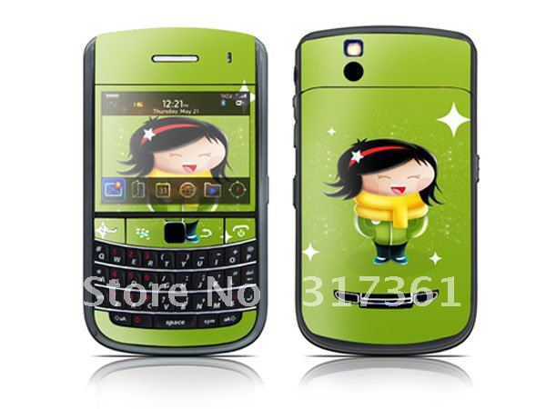 Mobile Phone Skin Sticker, sticker for BlackBerry Bold 9650 from factory, OEM is available!(China (Mainland))
