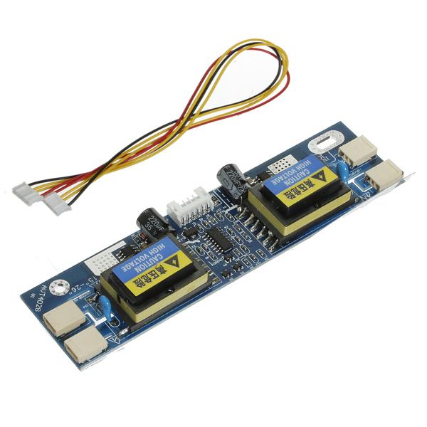 IMC Hot Universal CCFL Inverter LCD Laptop Monitor 4 Lamp 10-30V for 15-24