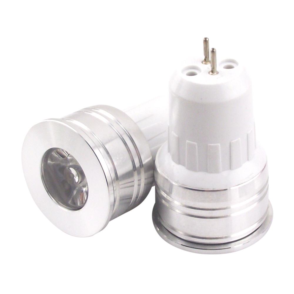 3w 110v 220v Mr11 Mini COB LED Spotlight Bulb 35mm Diameter Bright GU4 LED Light Bulb(China (Mainland))