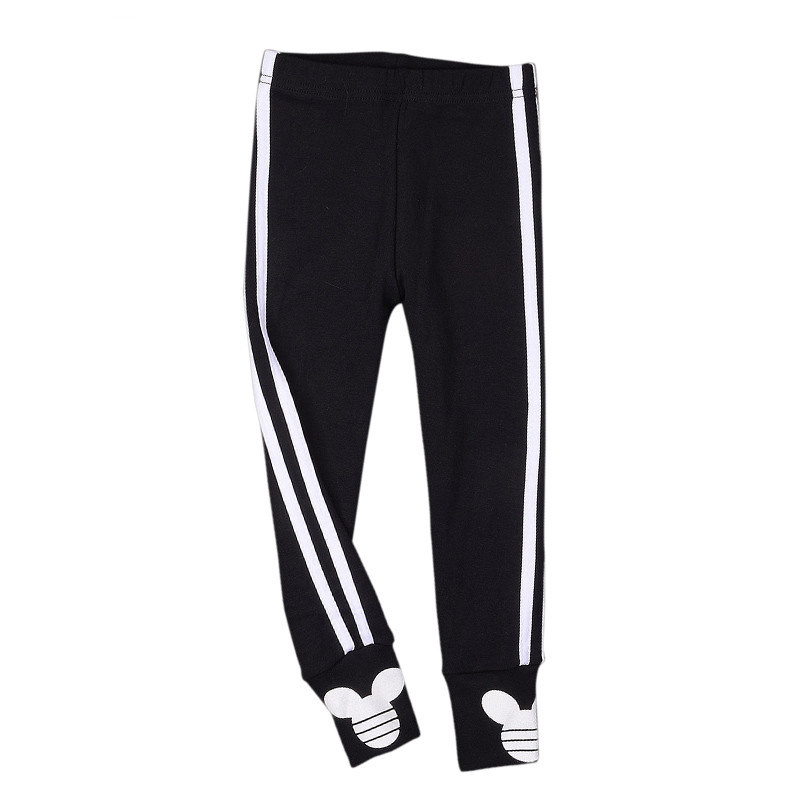 2016 autumn Baby girls Striped leggings cotton pants for girls sport leggings children school trousers kids Clothes(China (Mainland))