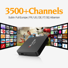 Buy Android 6.0 Smart TV Box Amlogic S905X 64bit Quad Core UHD 4K H.265 WiFi Mini MX Plus 1G 8G Media Player French Arab IPTV for $55.09 in AliExpress store