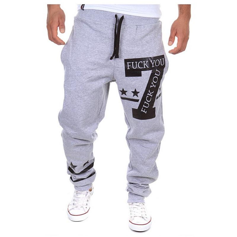 Гаджет  Mens Joggers sport pants men cargo jogging harem sweatpants hip hop pantalon homme compression jogger trousers pantalones hombre None Одежда и аксессуары