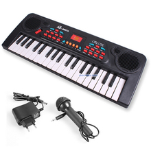 ZCZ Electronic organ Microphone Learning Music NEW musical toy instrument toys for children baby educational w028(China (Mainland))