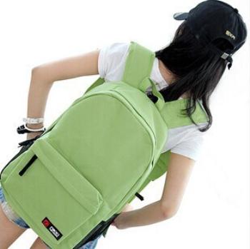 2015 high school students travel shoulder bag backpack large capacity bag shoulder bag sports men and women(China (Mainland))