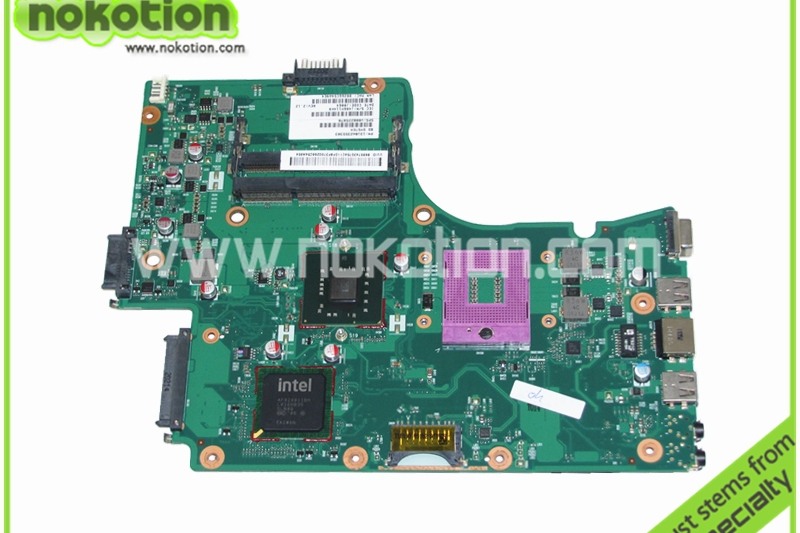 laptop motherboard for toshiba satellite C650 V000225070 1310A2355303 GM45 DDR3<br><br>Aliexpress