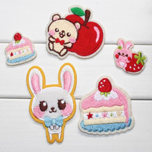 Wholesale Embroidered Iron On Patches Badge Armband Bag Stickers Fabric Patch 200pcs /lot(China (Mainland))