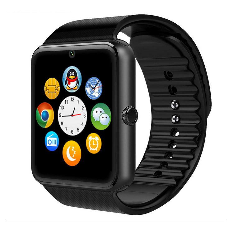 Smart Watch with Sim Card Passometer Sync Digital-Watch New Smartwatch Wristwear Watch with Camera Bluetooth Android(China (Mainland))
