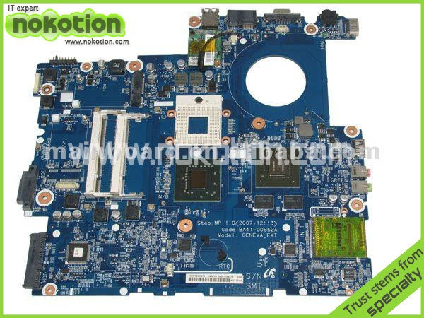 BA41-008621A LAPTOP MOTHERBOARD for SAMSUNG R700 INTEL PM965 NVIDIA GeForce 8400M GS DDR2 Mainboard(China (Mainland))