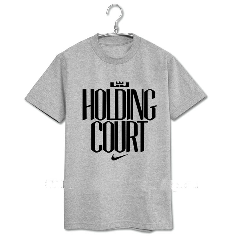 Summer new holding court Cavaliers LeBron James JAMES23 men and women couple short-sleeved T-shirt(China (Mainland))