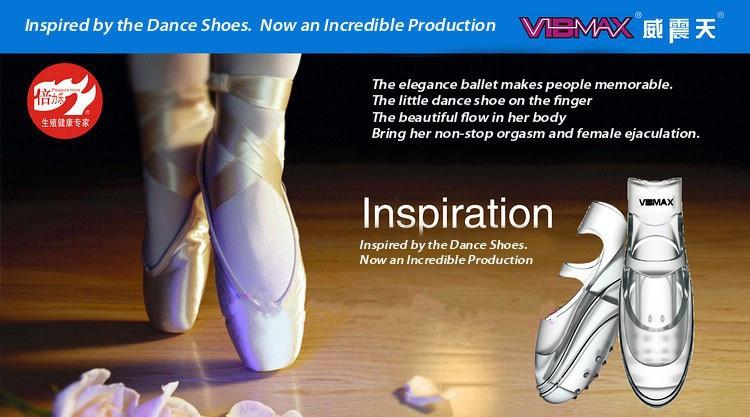 Hot Selling Dancer Finger Vibrator Vibmax Dancing Finger Shoe Clitoral G Spot Stimulator Sex Toys for