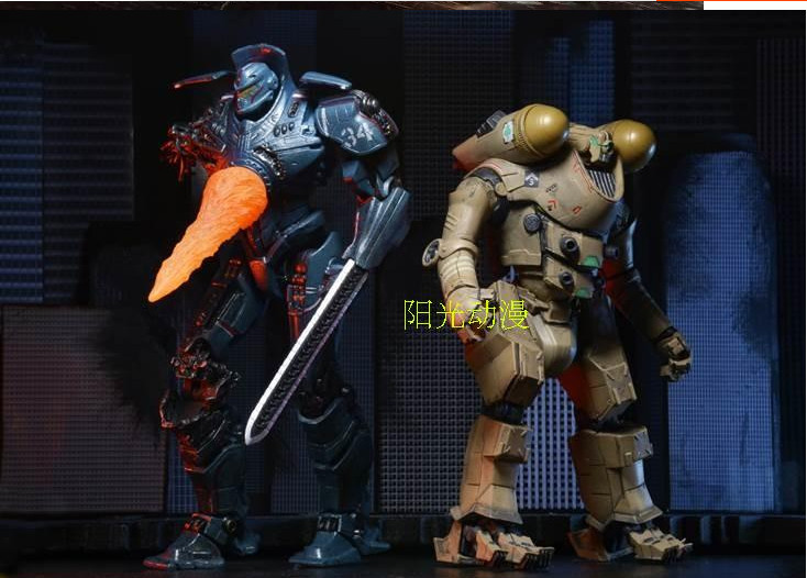 High Quality!!! Pacific Rim NECA Jaeger Gipsy Danger Horizon Brave 7inch PVC Action Figure Model Toys Gifts(China (Mainland))