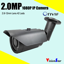 Buy varifocal lens ip camera 1080p full hd camera ip66 waterproof network camera night vision support HVR connection p2p camera for $49.88 in AliExpress store