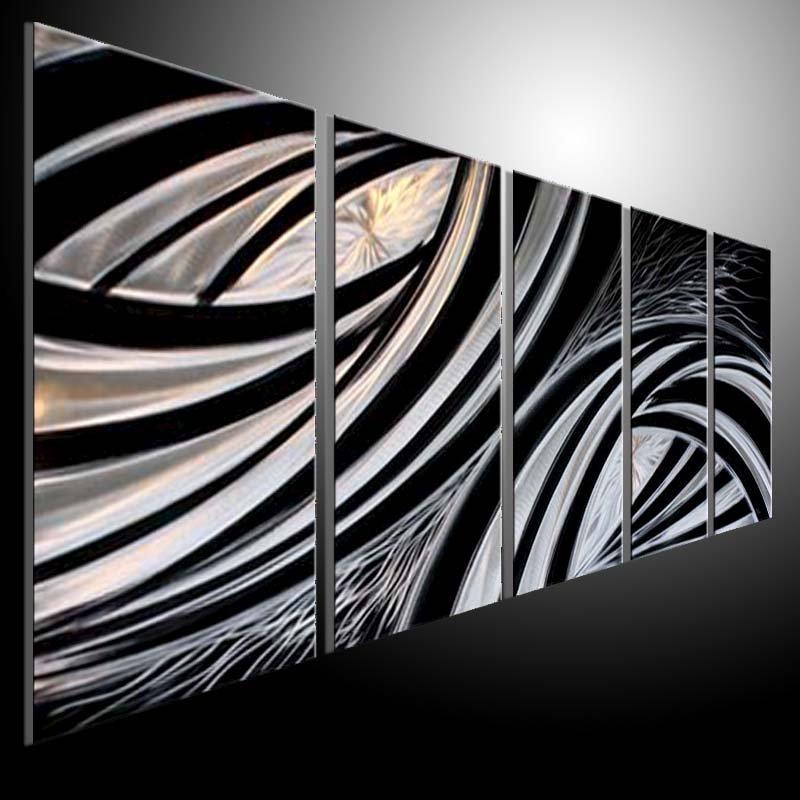 META ART PAINTING Original Contemporary Metal Modern Abstract Wall Art