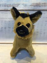 18cm cute plush poodle dog plush dog toy one piece free shipping