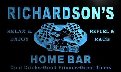 x1063-tm Richardson's Home Bar Pit Stop Custom Personalized Name Neon Sign Wholesale Dropshipping(China (Mainland))