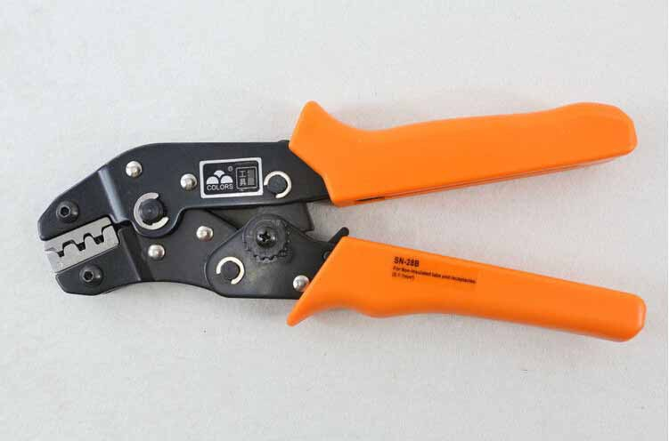 FREE SHIPPING Non-Insulated Tab Terminal Crimper Plier AWG28-18 SN-28 HAND TOOL NF77<br><br>Aliexpress