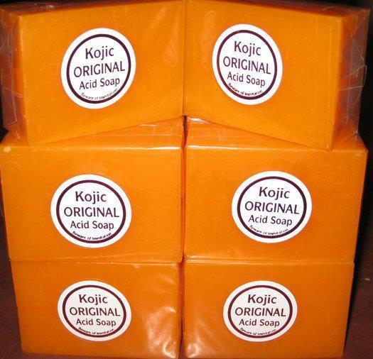 3pcs Papaya Kojic Acid Organic Herbal Soap Bars for Skin Whitening Bleaching free ship(China (Mainland))