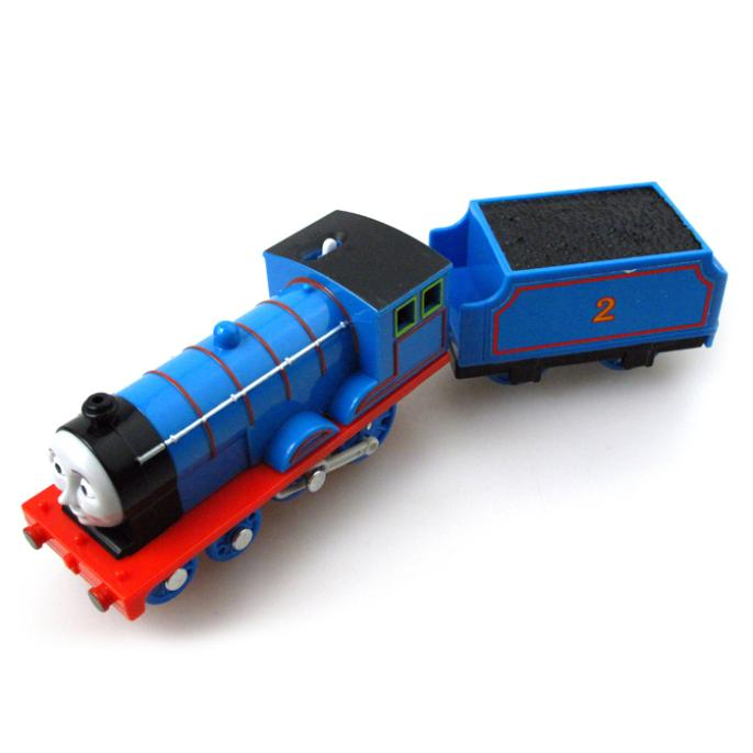 T0188 Edward Electric Thomas and friend Trackmaster engine Motorized train with Compartments Chinldren child kids plastic toys
