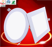 LED panel light ultra-thin anti-fog ceiling fluorescent ceiling light energy saving commercial lighting Free shipping(China (Mainland))