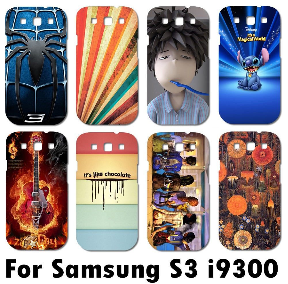 new cool painted protective hard back cover case for Samsung galaxy S3 i9300 fashional stylish mobile phone case(China (Mainland))