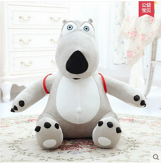 Guaranteed 100% Genuine cotton 1PCS/BAG kids Toy 40cm unlucky backkom Bear baby plush dolls,cartoon bear free shipping<br><br>Aliexpress