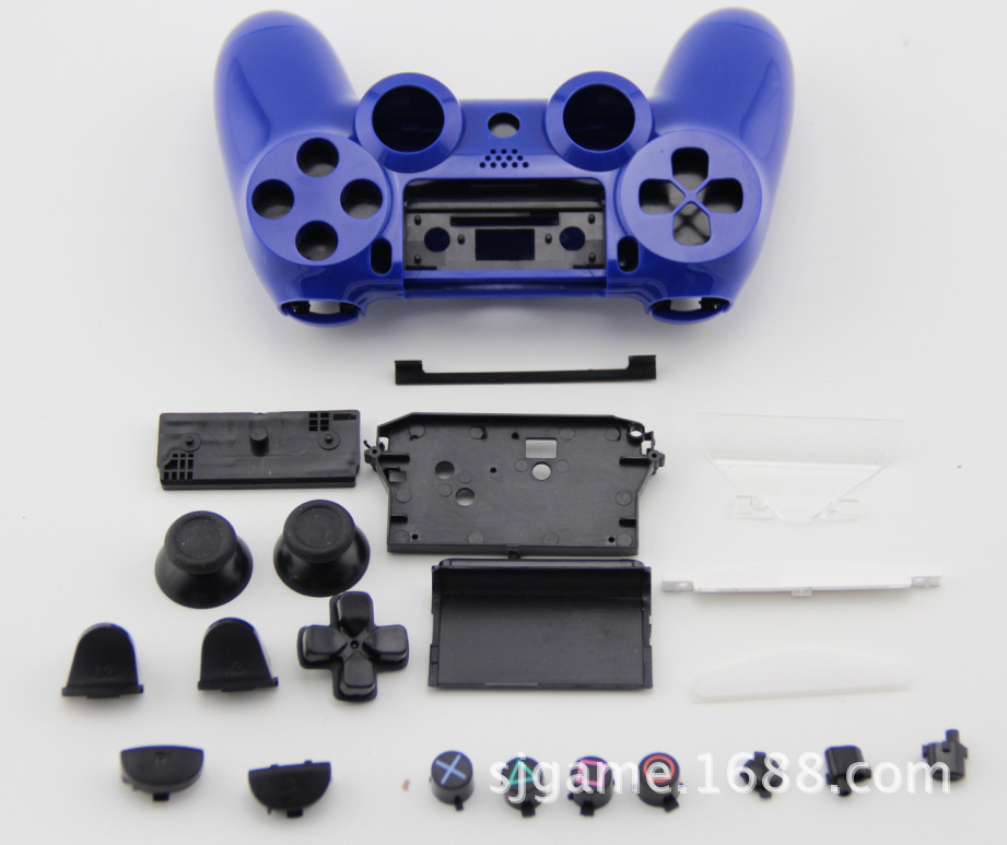 Full Set Housing Shell Protective Case Cover With Button Key Kit Replacement Parts for PlayStation4 PS4 PS 4 Wireless Controller(China (Mainland))