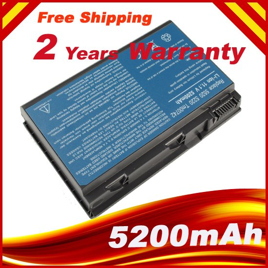 Laptop Battery For Acer Extensa 5620 5620G 5620Z Series Battery + free shipping<br><br>Aliexpress