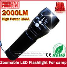 high power led flashlight promotion