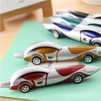 New Cute Kawaii Plastic Car Ballpoint Pen Novelty Ball Pen Creative Items Products Gift Korean Stationery Free shipping 283(China (Mainland))