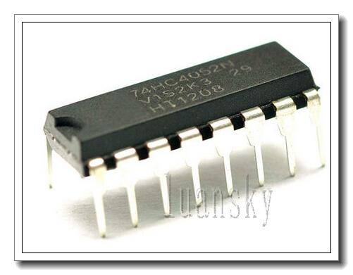 best price! 74HC4052 DIP-16 74 logic IC 2 - luna sky store