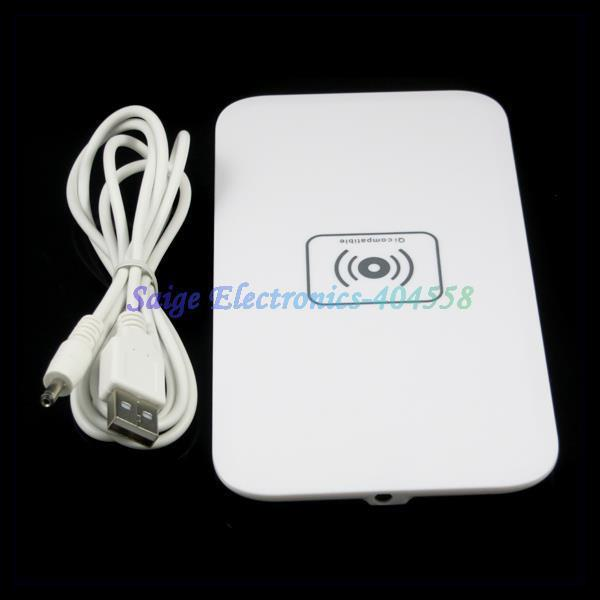 Mobile Phone Universal Qi Standard Inductive Wireless Charger Pad(China (Mainland))
