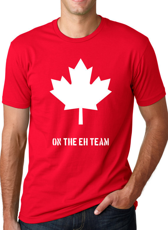 Make a bold statement with our Canada T-Shirts, or choose from our wide variety of expressive graphic tees for any season, interest or occasion.