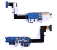 REV 2.3 I9100 Charger Port USB Flex with Mic for Samsung Galaxy S2 SII I9100 Charging Dock Connector Cable Ribbon 1pcs