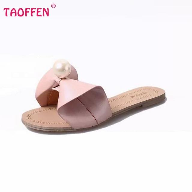 Горячие продажа марка качество женщины боути сандалии тапочки летняя мода обувь пляж ...