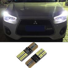 Cree LED T10 W5W LED Car LED 12V 4.8W Auto Lamp Clearance Light Parking For mitsubishi asx lancer 10 pajero outlander 2013(China (Mainland))