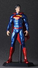 Free Shipping New 12″ Anime Movie Superman Action Figure painted Super man doll PVC Collectible model Toy 28cm KB0413