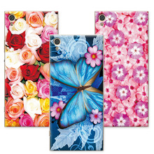 """Buy Floral Art Painted Flower Case coque Sony Xperia XA1 Case Cover Soft TPU 5"""" funda Sony XA1 G3112 G3116 G3121 G312+Gift for $1.35 in AliExpress store"""