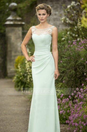 Pale Green Bridesmaid Dress - Ocodea.com