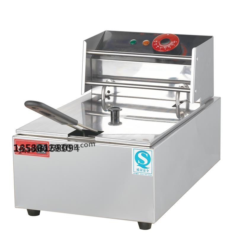 Counter top Electric Fryer Single Basket 6 Liters fryer with CE Approval Donut Fryer with CE<br><br>Aliexpress