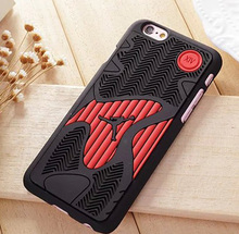 Hot 2016 NBA Basketball Michael Jordan 14 Shoe Sole Rubber Cell Phone Cases For Apple iPhone 6 s plus 6plus Men Sport Case Cover(China (Mainland))