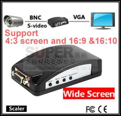 for converting Composite Video BNC Composite & S Video to VGA BNC video convertor(China (Mainland))