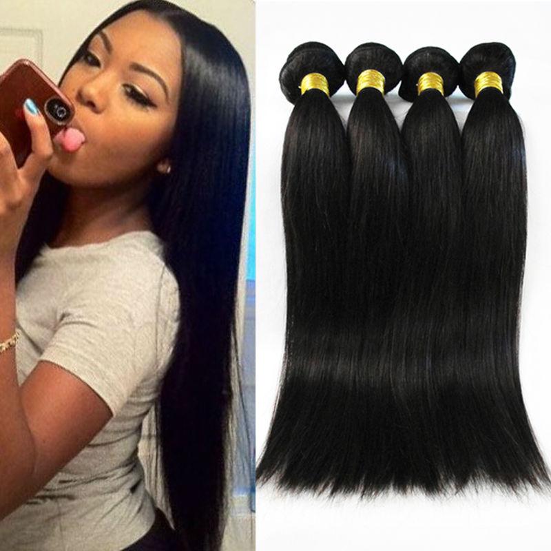 3pcs Peruvian Virgin Human Hair Straight Rosa Hair Products Cheap Human Hair Extensions New Star Virgin Hair Free Shipping(China (Mainland))
