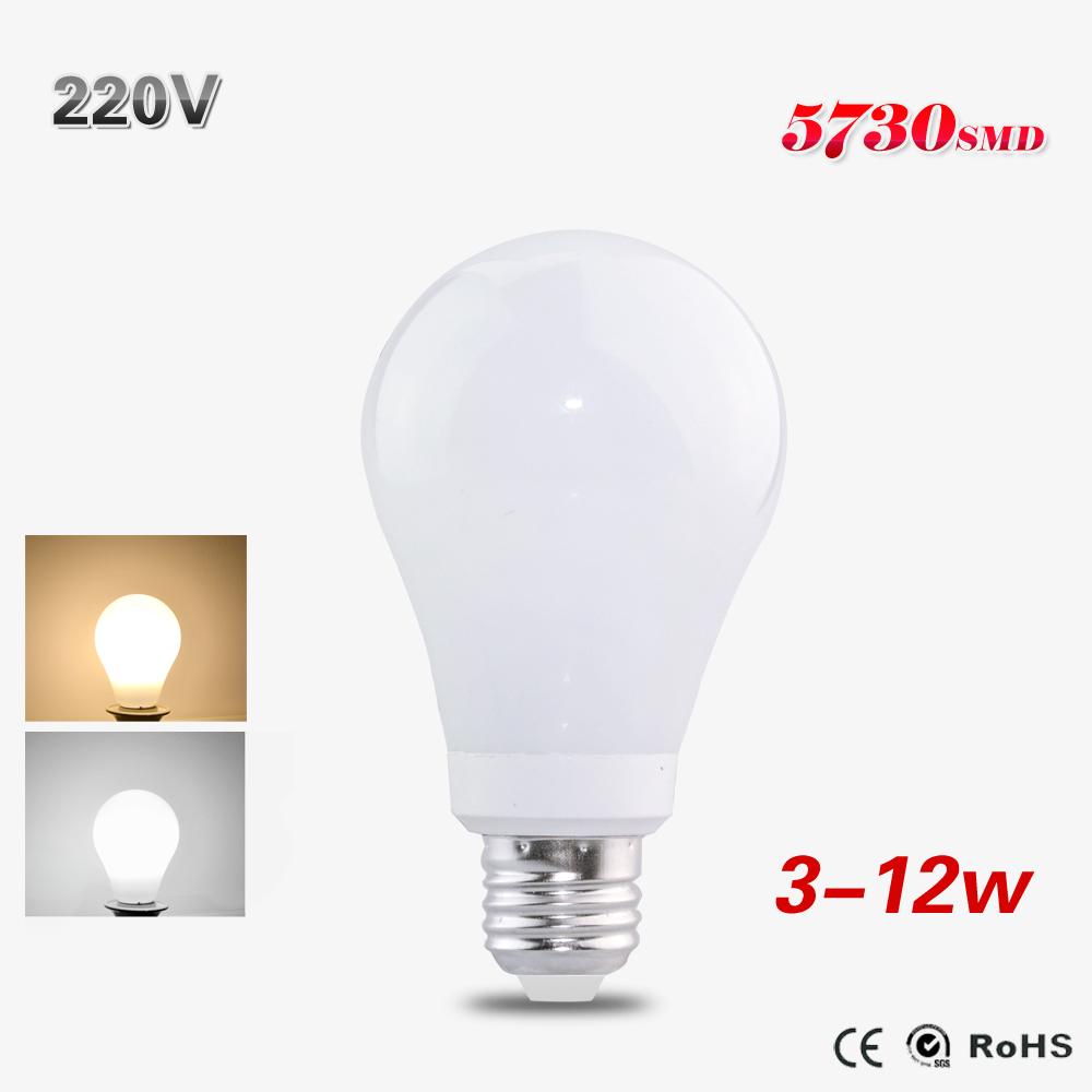 1PCS  E27 Led Globe Bulb Lamp High Power 3W 5W 7W 10W 12W Lampada Led 220V 230V 240V For Christmas Home Holiday Lighting <br><br>Aliexpress